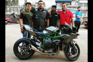 India's first 2019 Kawasaki Ninja H2R has been delivered in Pune
