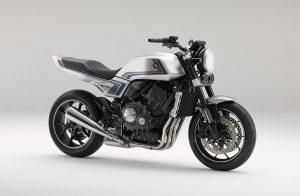 World Premiere of concept model Honda CB-F Concept